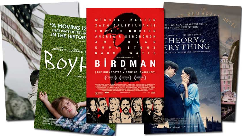 Films Nominated for an Academy Award 2015