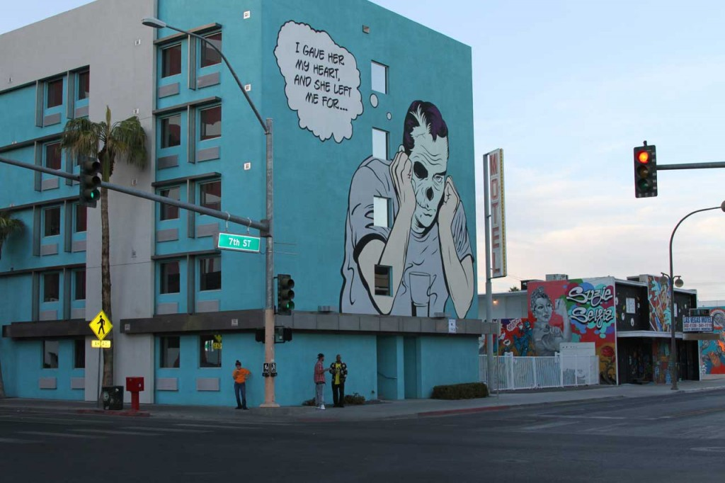 D*Face Street Art Las Vegas - Copyright: Xzelenz Media