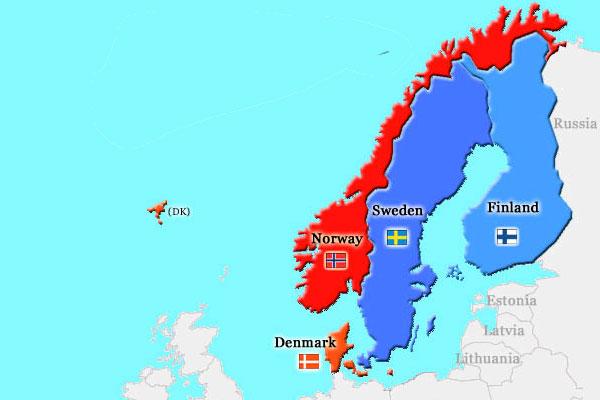 Quizagogo - Kings and Queens Trivia Quiz - Nordic Countries