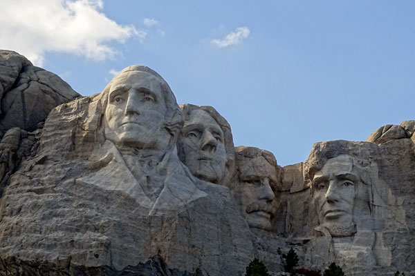 Quizagogo - Famous Landmarks in USA - Mt. Rushmore
