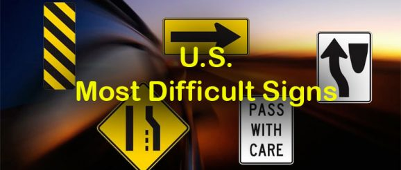Quizagogo - US Road Signs - Most Difficult Signs