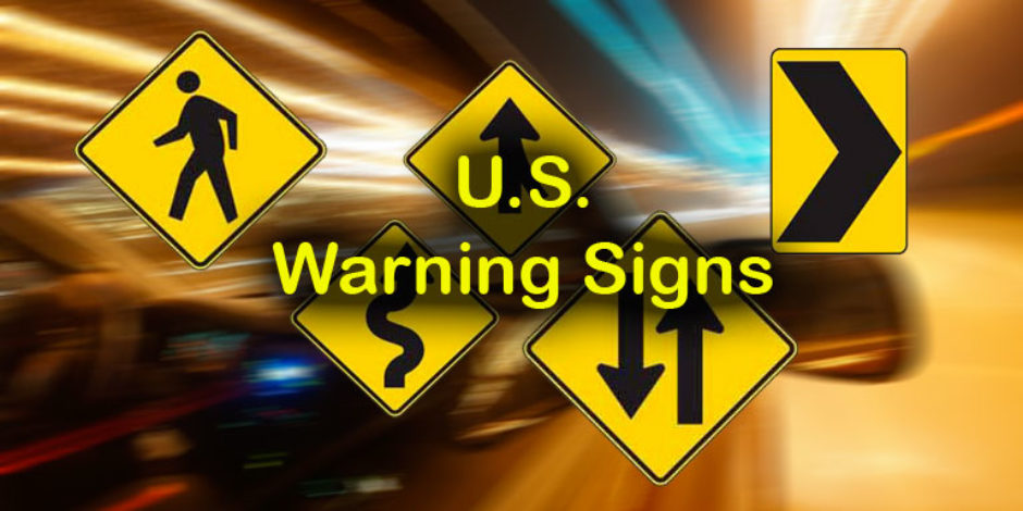 "Quizagogo - U.S. Road Signs  €"" Warning Signs"