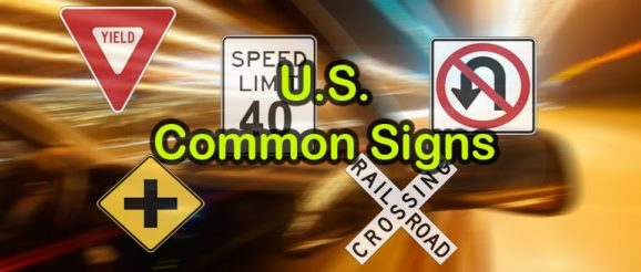 U.S. Road Signs – Common Signs