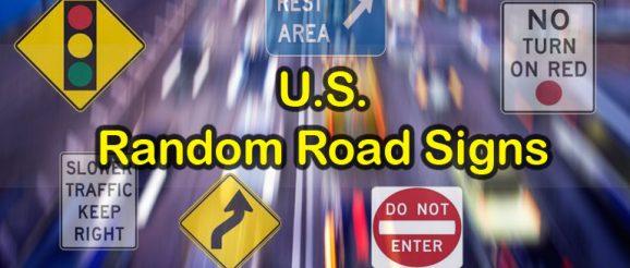 U.S. Road Signs - 10 Random Quiz Questions