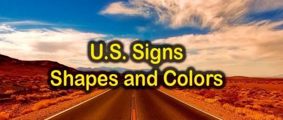 Quizagogo - U.S. Road Signs - Shapes and Colors Quiz