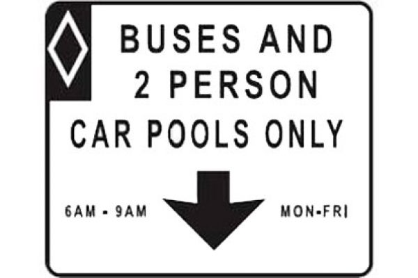 Quizagogo - Car Pool Sign