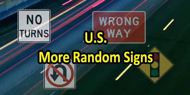 Image: Quizagogo - U.S. Road Signs - More Random Signs Questions