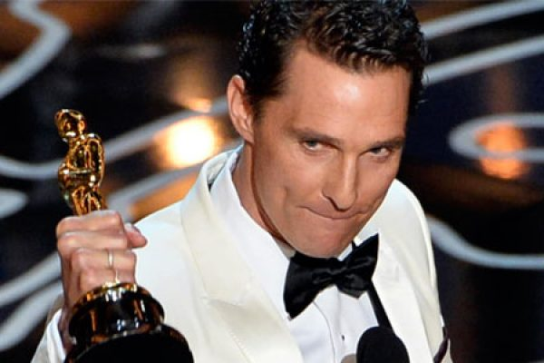 Matthew McConaughey - Best Actor Award