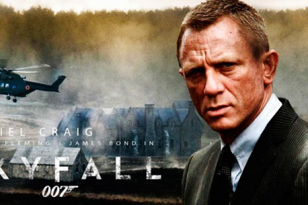 The James Bond film Skyfall