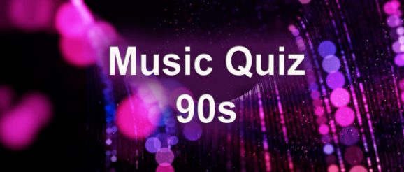 1990s music quiz from quizagogo