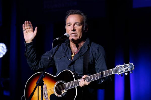 Bruce Springsteen takes a stand