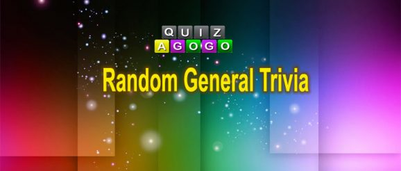 Random General Trivia at Quiz-A-Go-Go