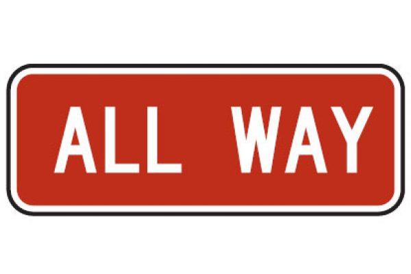 Quizagogo - US Road Signs - All Way