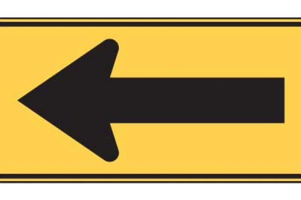 Quizagogo - US Road Signs - Large arrow