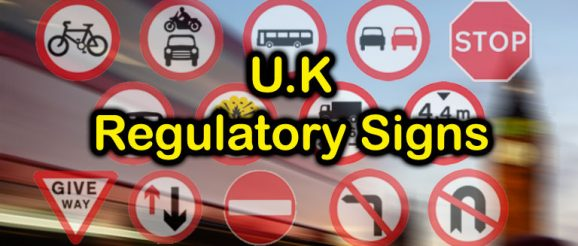 U.K. Regulatory Traffic Signs at Quizagogo
