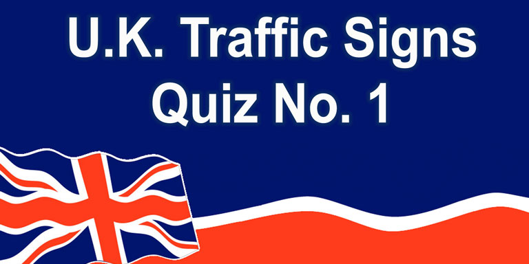 UK U.K. Traffic Signs Quiz on YouTube