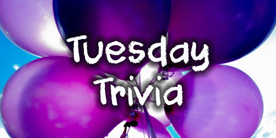 Tuesday Trivia on October 22, 2019