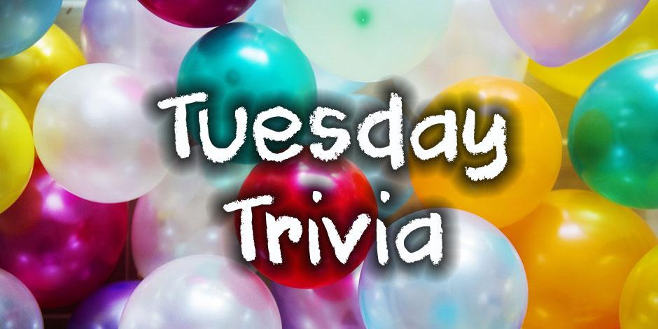 Tuesday Trivia at QuizAGoGo