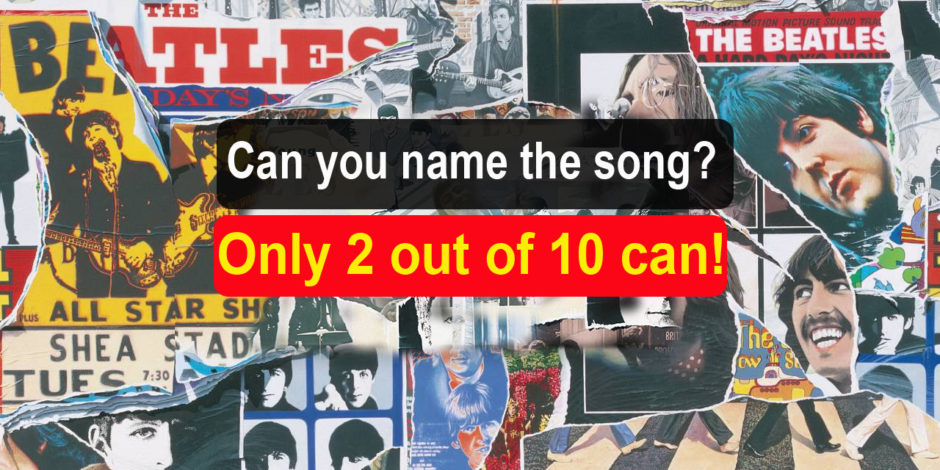 Beartles lyrics quiz - Can you name the song