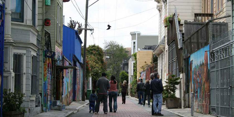 Balmy Alley San-Francisco