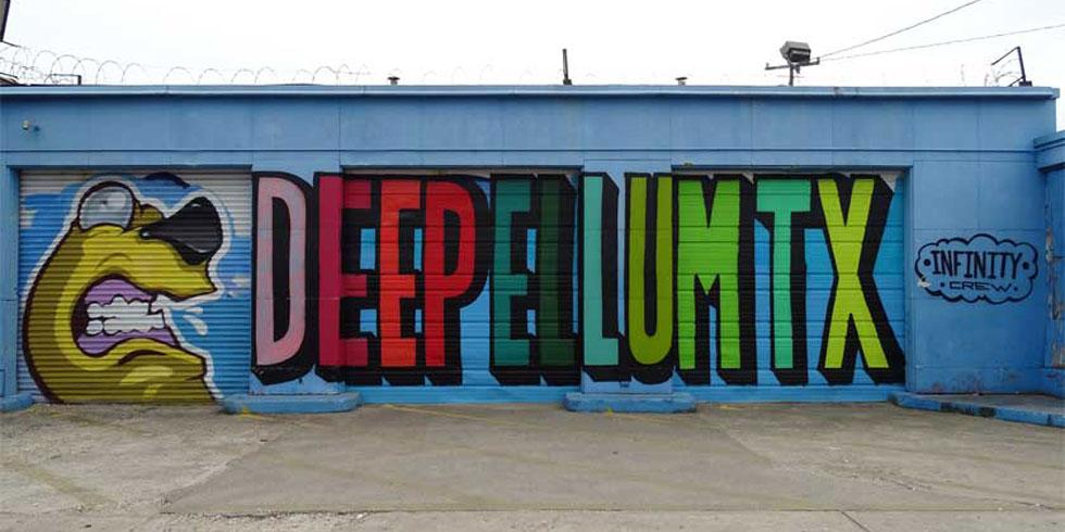 42 Murals in Deep Ellum, Dallas