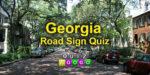 Georgia road sign quiz