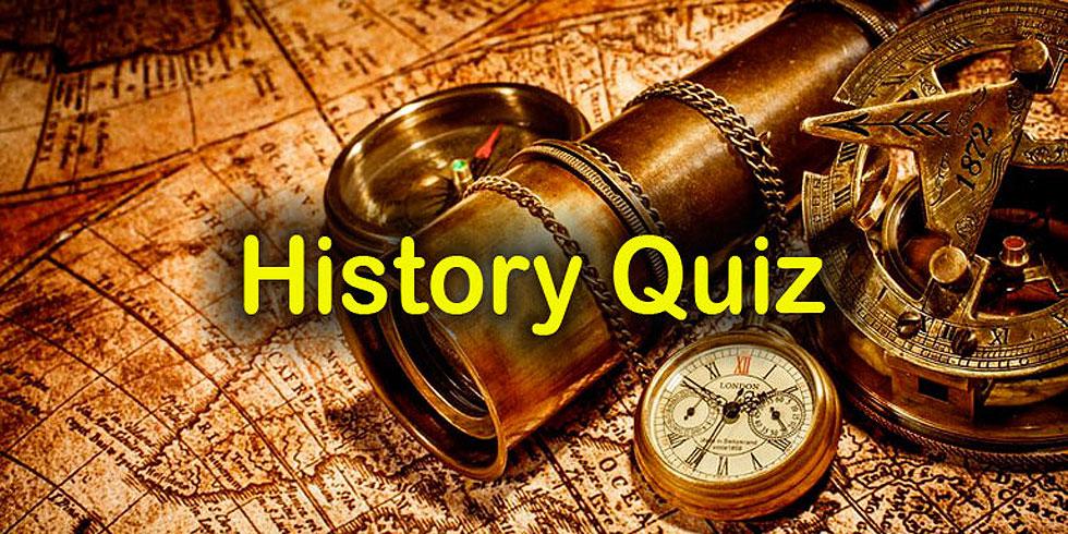 General History Quiz at Quizagogo