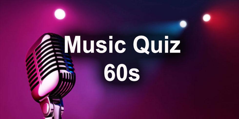 1960s Music Quiz