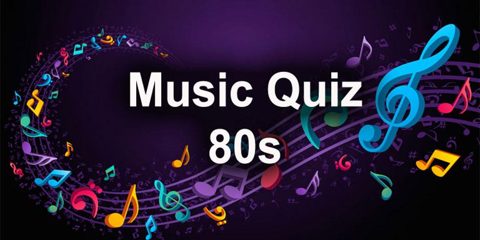 Music quiz 1980s