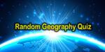 Random Geography Quiz