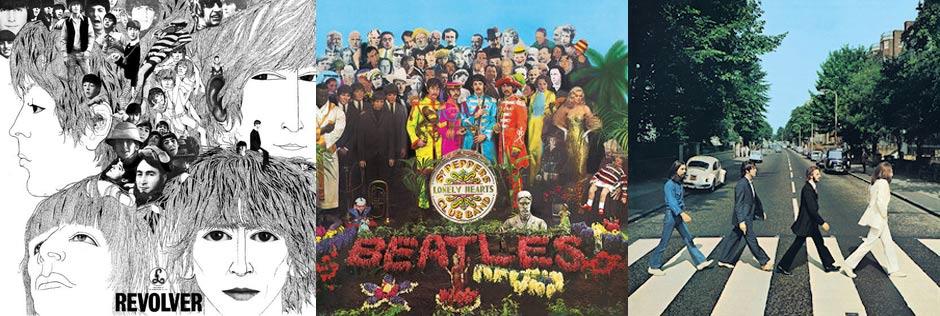 The Beatles - LP Cover Art