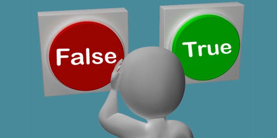 The True Or False Quiz