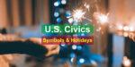 U.S. Civics Symbols and Holidays - Photo by JESHOOTS