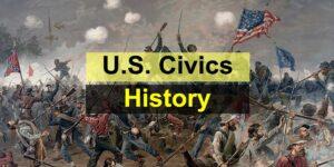 U.S. Civics Test - American History