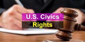 U.S. Civics Test - Rights and Responsibilities
