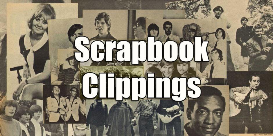 Sixties quiz - scrapbook clippings