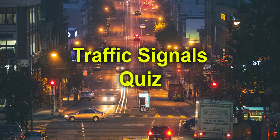 U.S. DMV Questions about Traffic Signals - Photo by Casey Horner