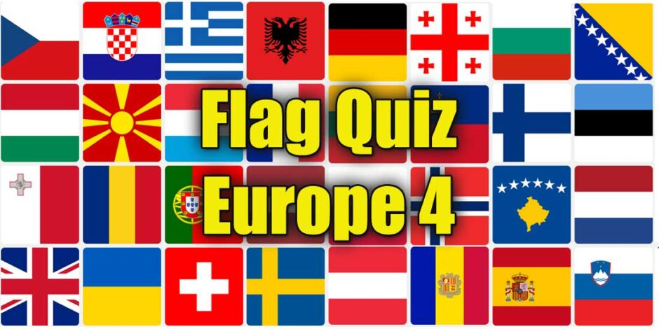 Flag Quiz - National Flags of Europe 4