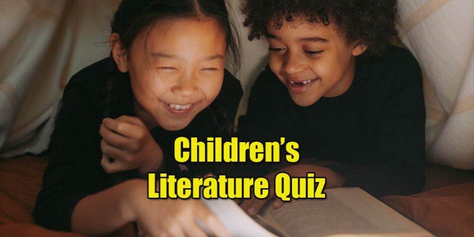 Literature quiz - children's books